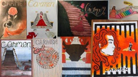 Carmen affiches